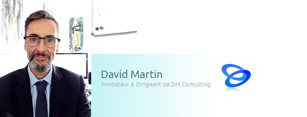 David Martin, fondateur de DM Consulting.